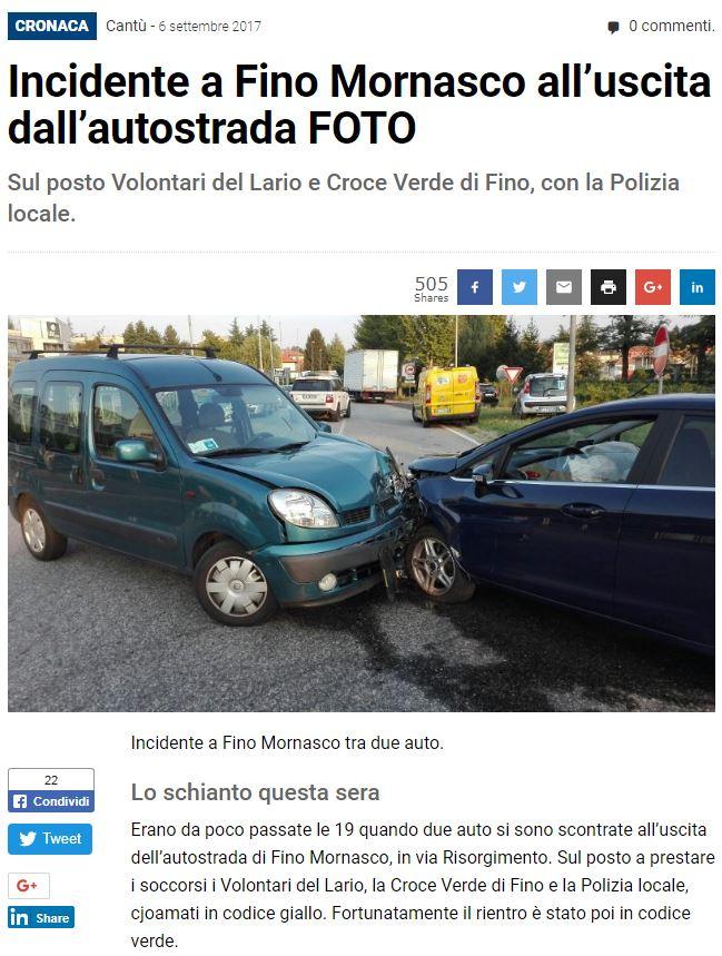 Giornale di Como – 06.09.2017