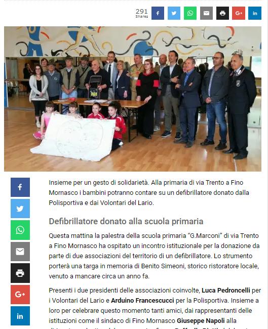 Giornale di Como 05.05.18